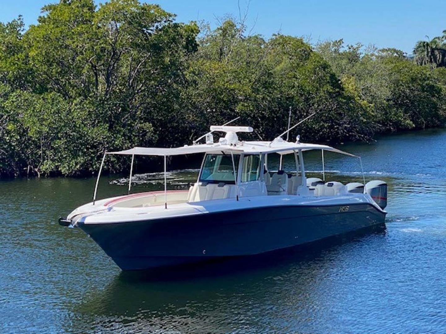 Hydra-Sports-Siesta Edition HCB 2019-Not Fishing II Boca Raton-Florida-United States-Complete Front And Rear Canopy Covers-1348435   Thumbnail