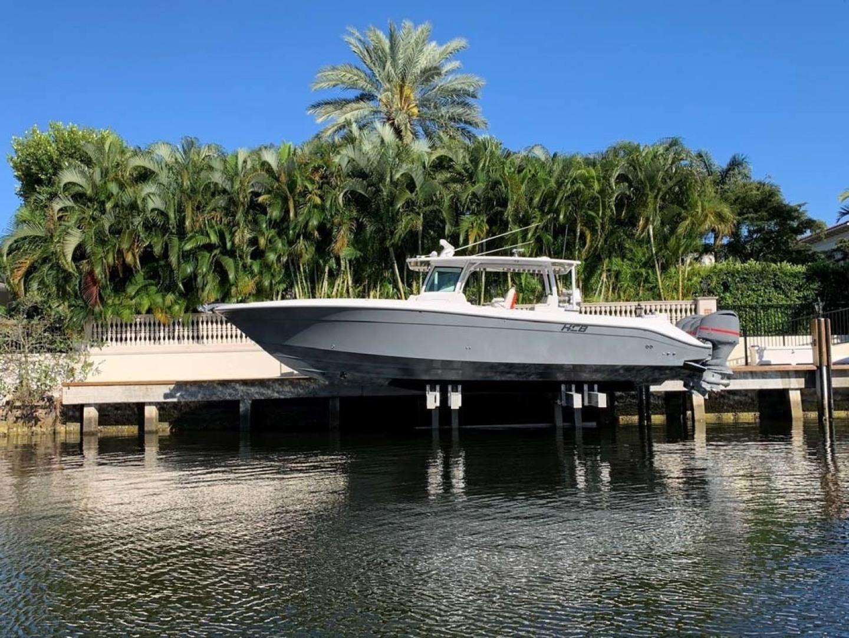 Hydra-Sports-Siesta Edition HCB 2019-Not Fishing II Boca Raton-Florida-United States-Port Side On Lift-1348463   Thumbnail