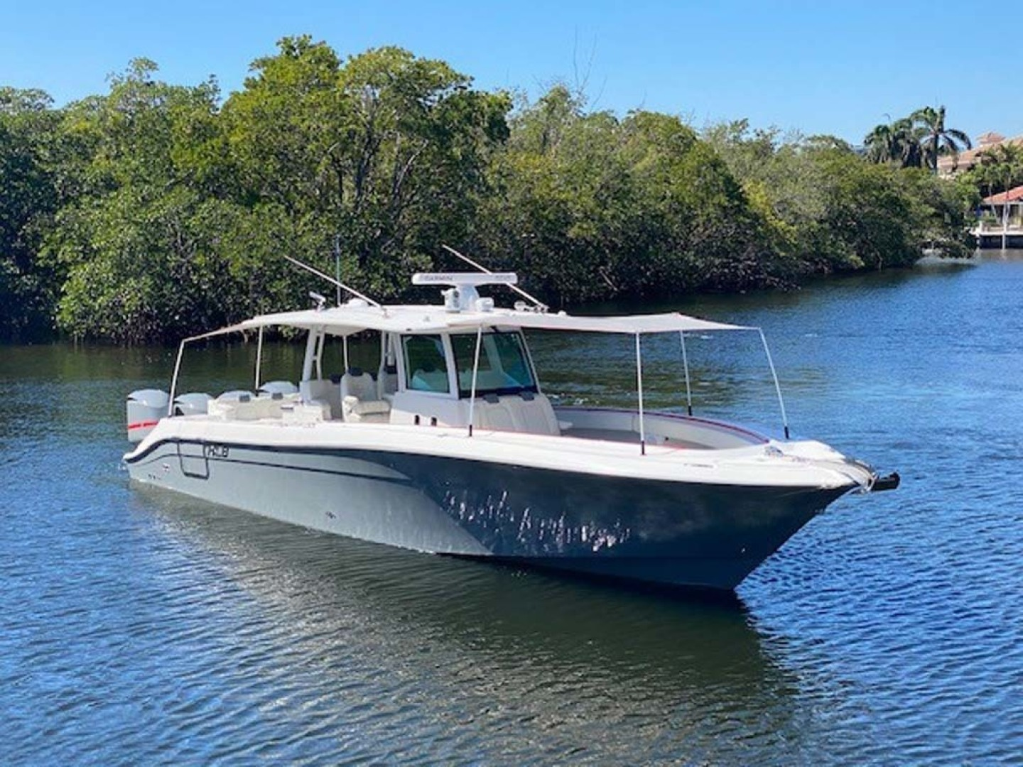 Hydra-Sports-Siesta Edition HCB 2019-Not Fishing II Boca Raton-Florida-United States-Complete Front And Rear Canopy Covers-1348436   Thumbnail