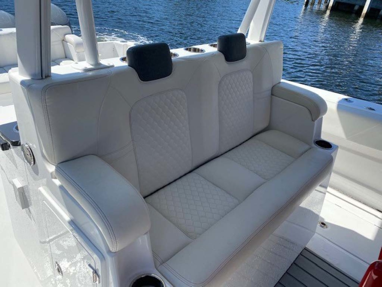Hydra-Sports-Siesta Edition HCB 2019-Not Fishing II Boca Raton-Florida-United States-Seating Behind Helm Seat-1348449   Thumbnail