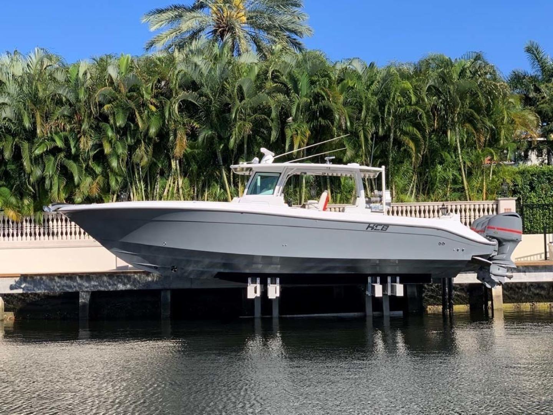 Hydra-Sports-Siesta Edition HCB 2019-Not Fishing II Boca Raton-Florida-United States-Port Side On Lift-1348434   Thumbnail