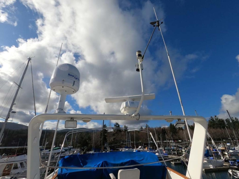 Ocean Alexander-MK I 1980-El Pescador Sequim-Washington-United States-Antenna-1350019 | Thumbnail