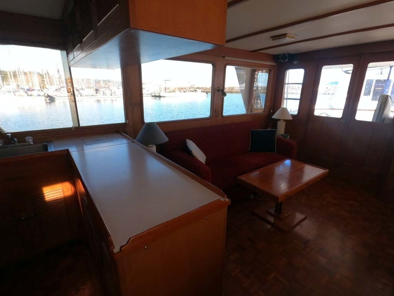 Ocean Alexander-MK I 1980-El Pescador Sequim-Washington-United States-Main Cabin-1350021 | Thumbnail