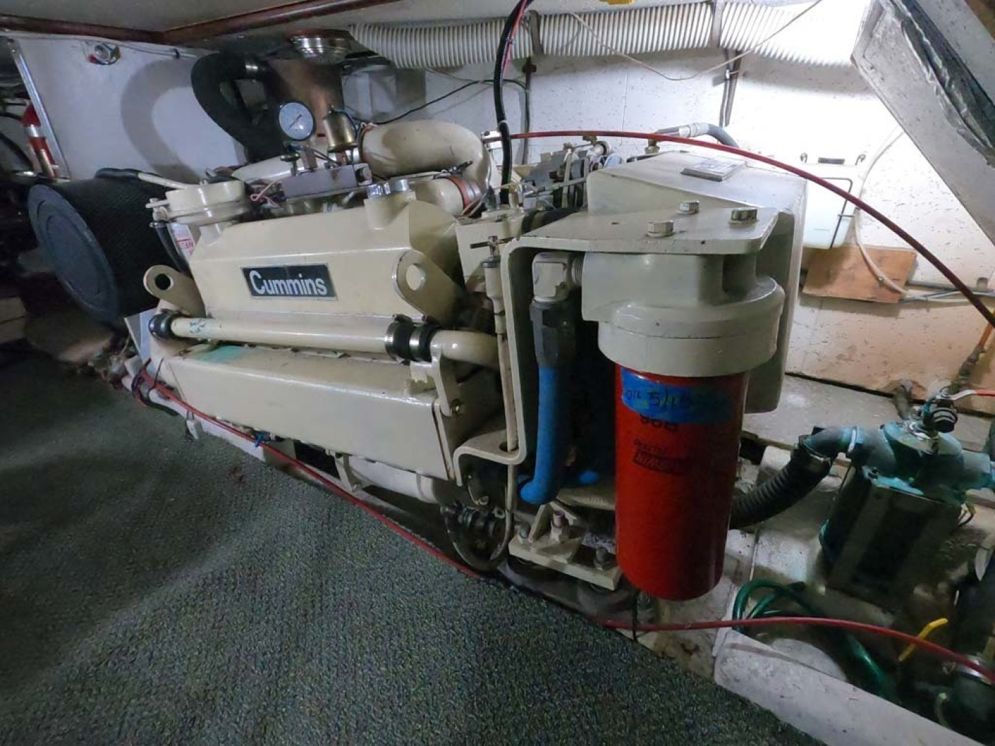 Ocean Alexander-MK I 1980-El Pescador Sequim-Washington-United States-Port Engine-1350039 | Thumbnail