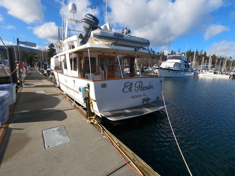 Ocean Alexander-MK I 1980-El Pescador Sequim-Washington-United States-Stern-1350041 | Thumbnail