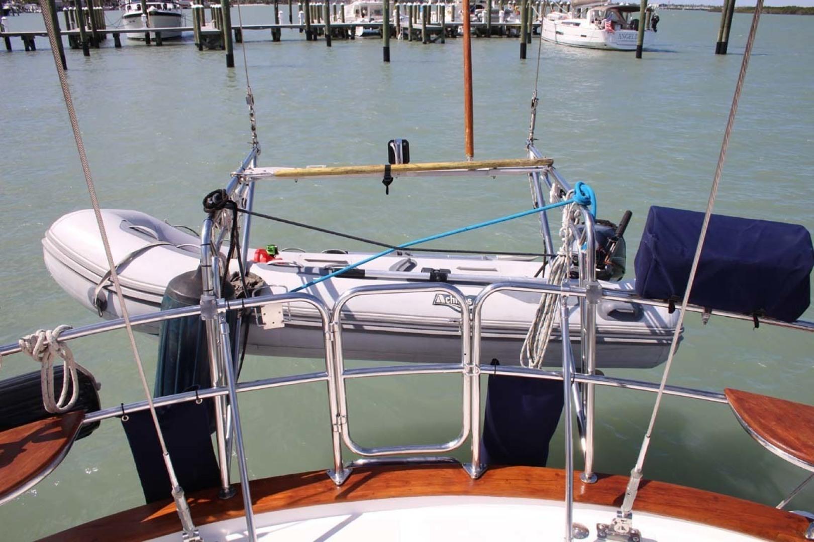 Tayana-48 1995-Lady Jennili Cape Canaveral-Florida-United States-Tender Davits Grill-1350700 | Thumbnail