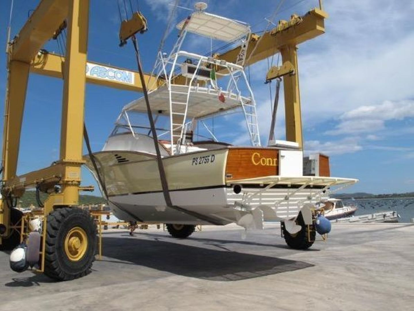 Custom-Ocean Tech 40 1992 -Olbia-Italy-Ocean Tech 40, On Drydock-1351698 | Thumbnail