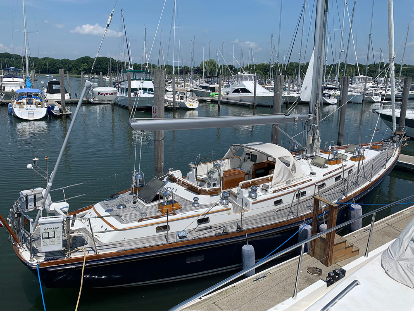 Little Harbor-54 1995-LA DIFFERENCE Branford-Connecticut-United States-At Dock-1438867 | Thumbnail