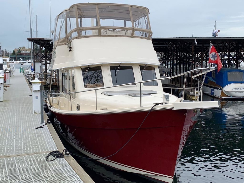 Mainship-Trawler 2007-LITTLE RED Seattle-Washington-United States-Starboard Bow Profile-1352022 | Thumbnail