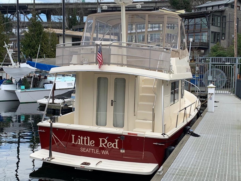 Mainship-Trawler 2007-LITTLE RED Seattle-Washington-United States-Stern View-1352025 | Thumbnail