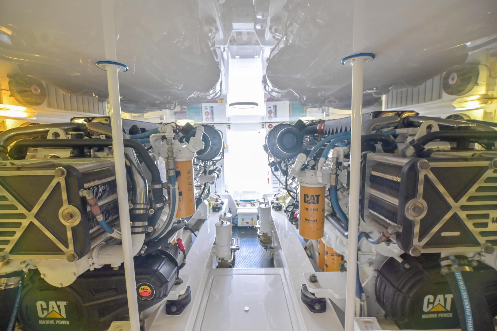 Viking-62 Convertible 2014-Mixer Playa Herradura, Los Suenos,-Costa Rica-2014 Viking 62 Convertible  Engine Room-1356261 | Thumbnail