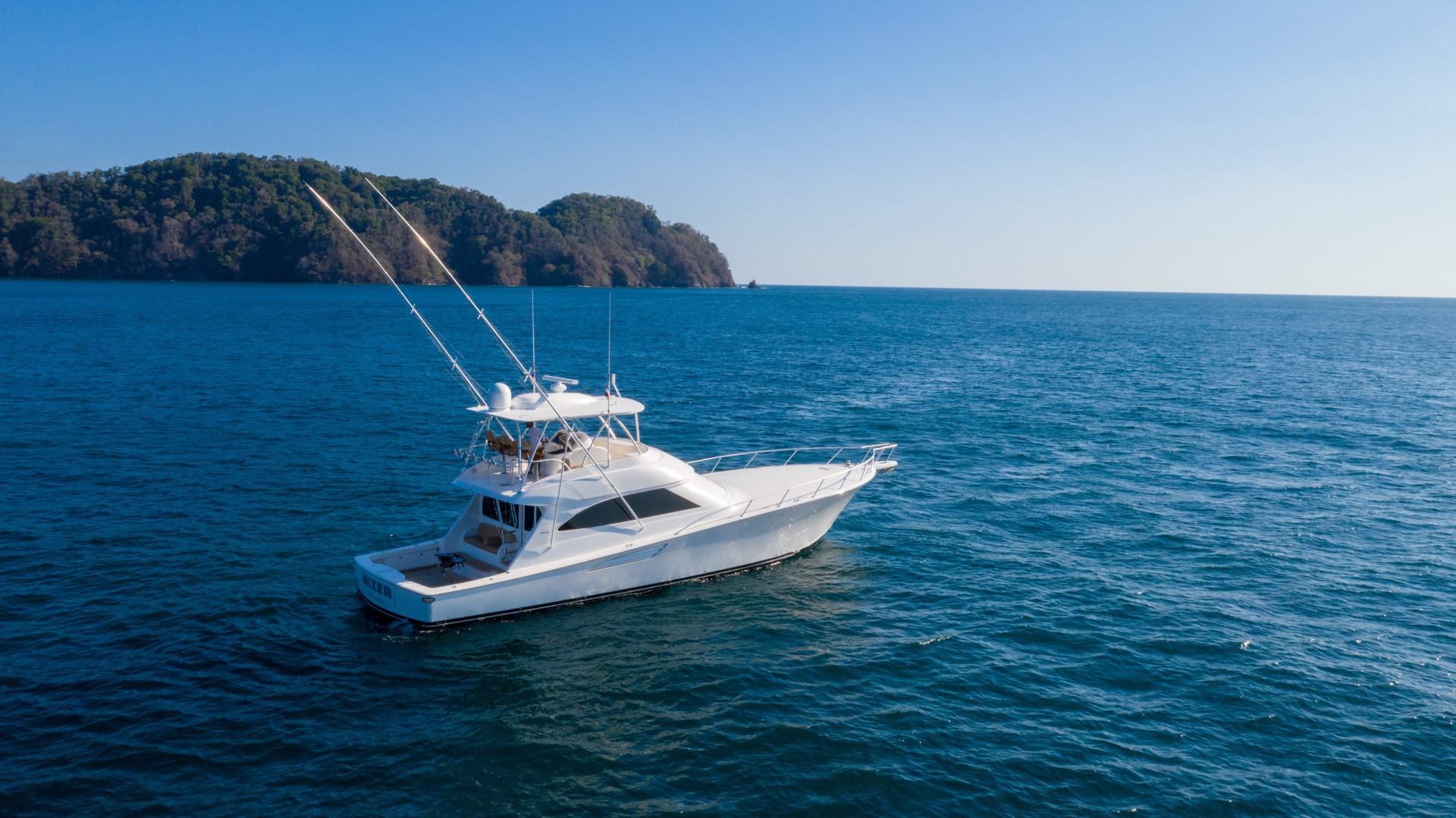 Viking-62 Convertible 2014-Mixer Playa Herradura, Los Suenos,-Costa Rica-2014 Viking 62 Convertible  Starboard Profile-1356276 | Thumbnail