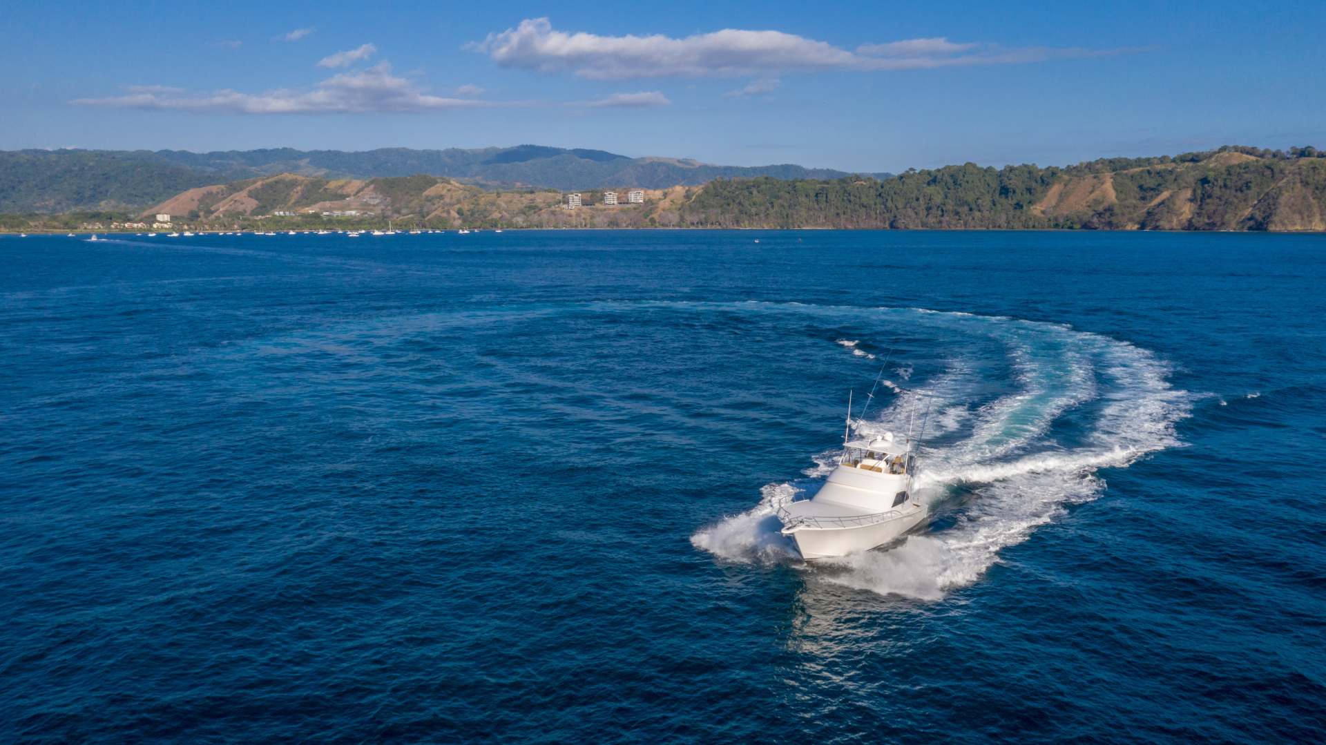 Viking-62 Convertible 2014-Mixer Playa Herradura, Los Suenos,-Costa Rica-2014 Viking 62 Convertible  Port Profile Running-1356281 | Thumbnail