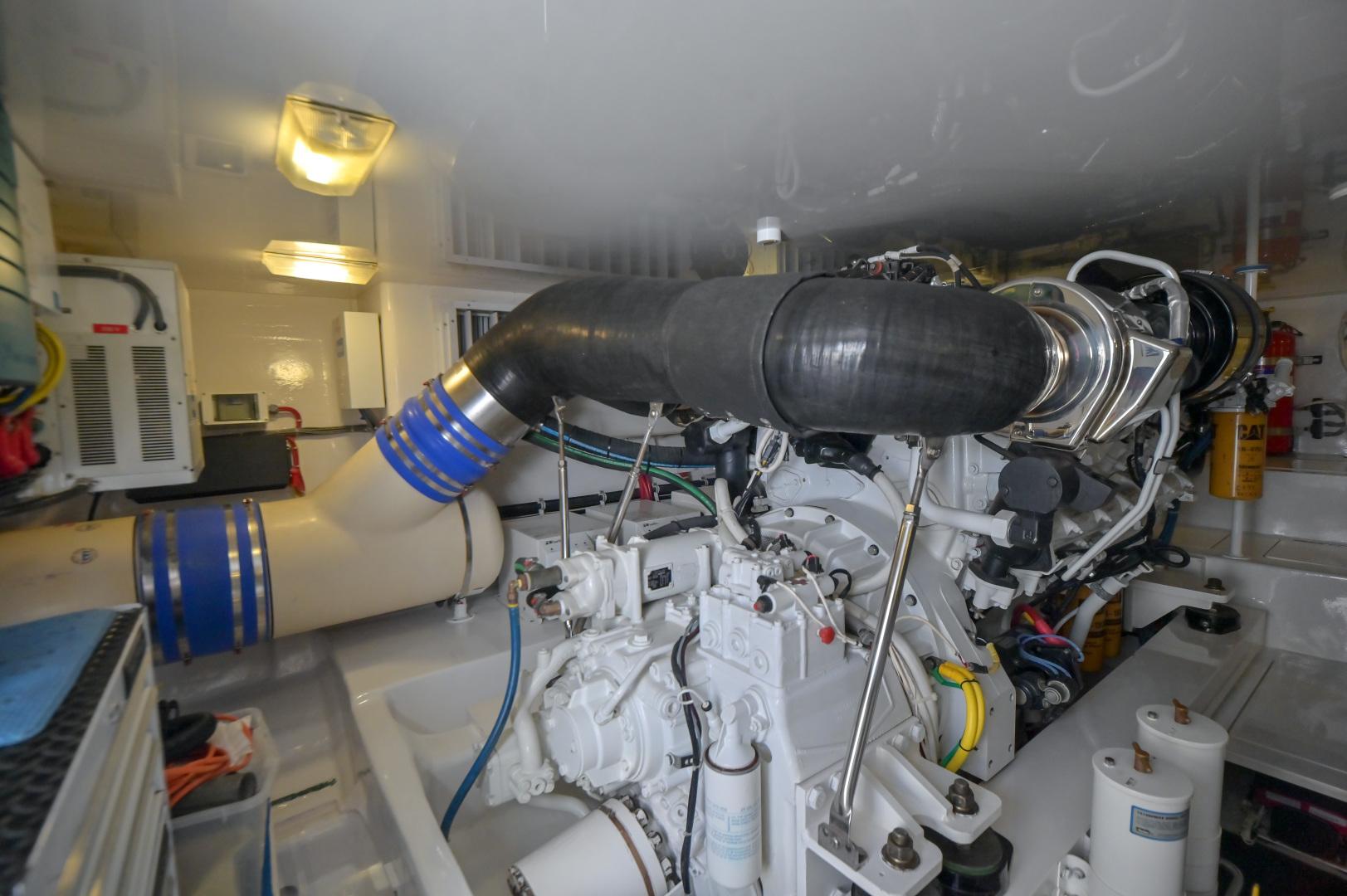 Viking-62 Convertible 2014-Mixer Playa Herradura, Los Suenos,-Costa Rica-2014 Viking 62 Convertible  Engine Room-1356255 | Thumbnail