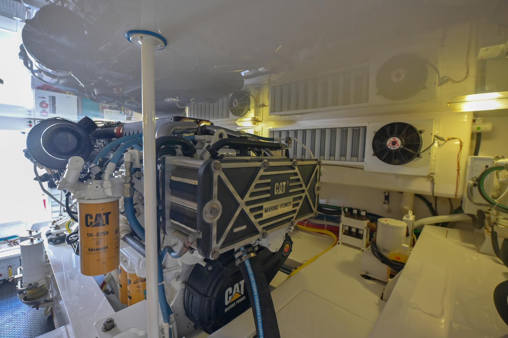 Viking-62 Convertible 2014-Mixer Playa Herradura, Los Suenos,-Costa Rica-2014 Viking 62 Convertible  Engine Room-1356260 | Thumbnail