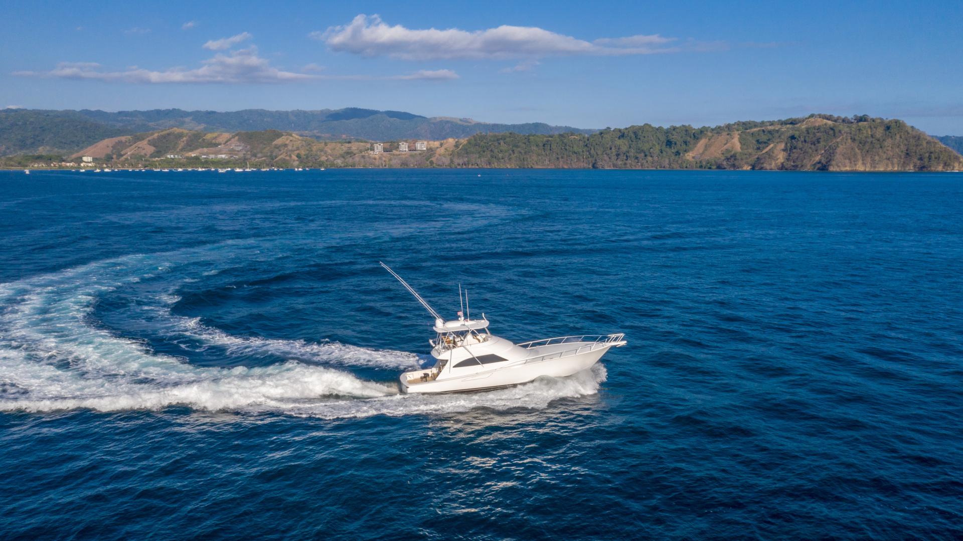 Viking-62 Convertible 2014-Mixer Playa Herradura, Los Suenos,-Costa Rica-2014 Viking 62 Convertible  Starboard Profile Running-1356284 | Thumbnail