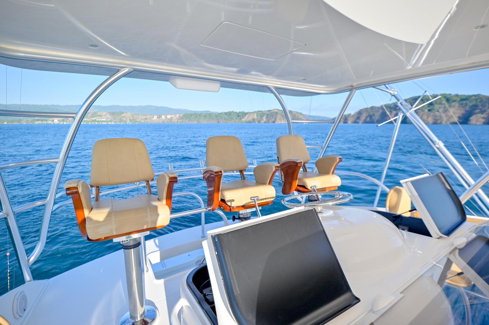 Viking-62 Convertible 2014-Mixer Playa Herradura, Los Suenos,-Costa Rica-2014 Viking 62 Convertible  Helm Chairs-1356227 | Thumbnail