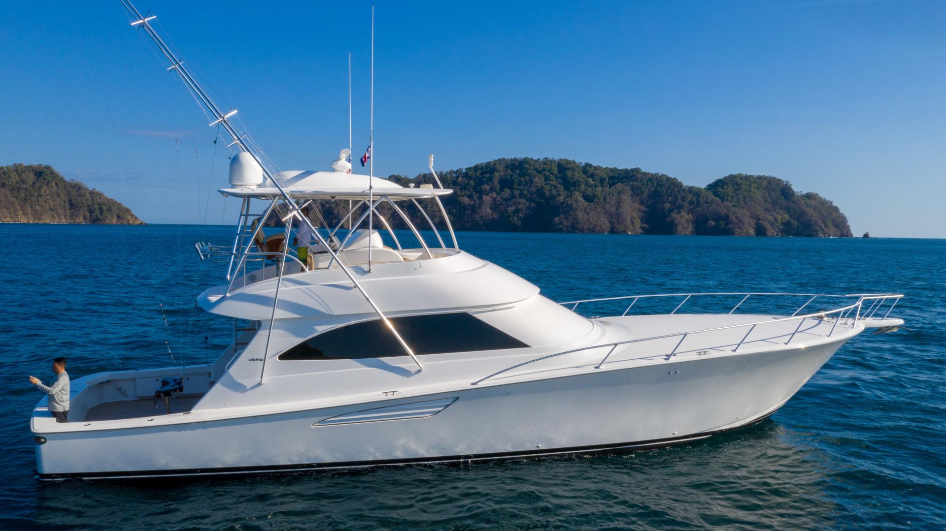 Viking-62 Convertible 2014-Mixer Playa Herradura, Los Suenos,-Costa Rica-2014 Viking 62 Convertible  Starboard Profile-1356277 | Thumbnail