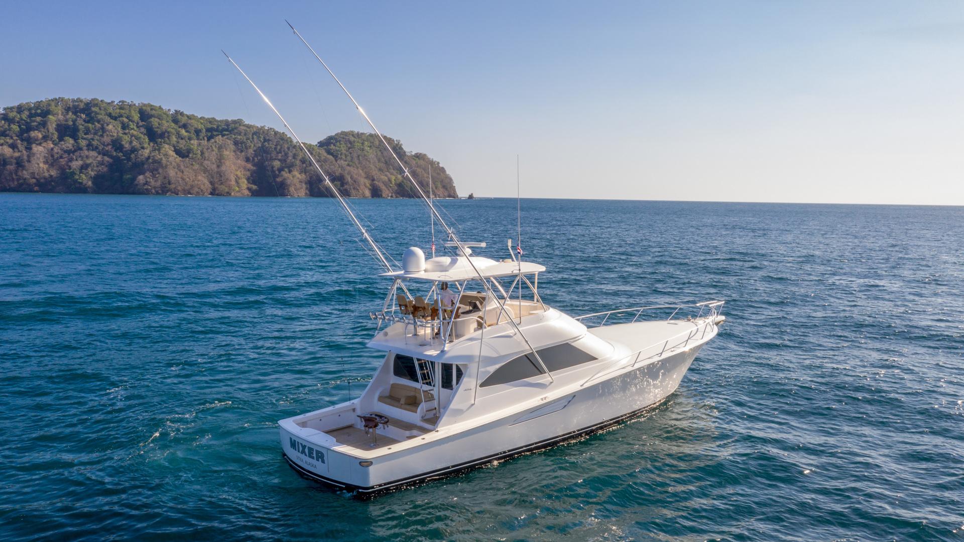 Viking-62 Convertible 2014-Mixer Playa Herradura, Los Suenos,-Costa Rica-2014 Viking 62 Convertible  Starboard Profile-1356265 | Thumbnail