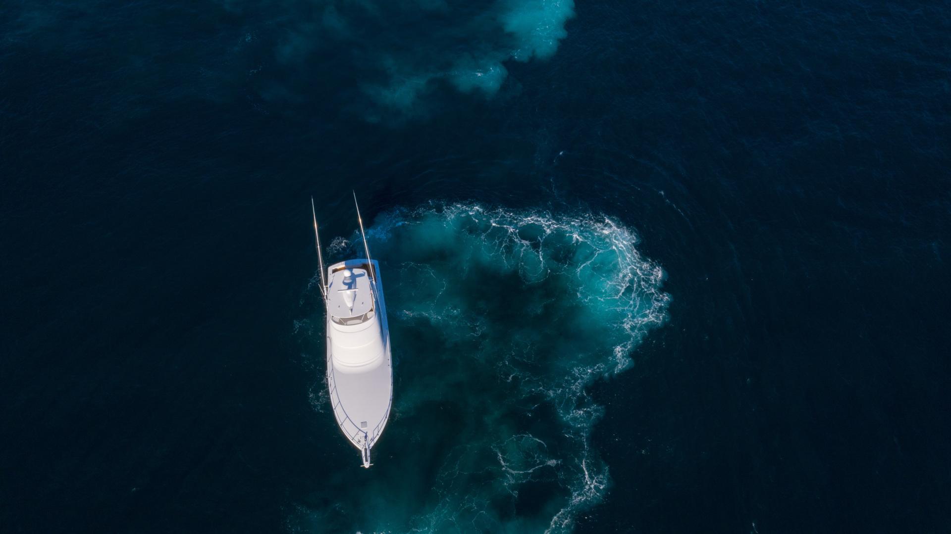 Viking-62 Convertible 2014-Mixer Playa Herradura, Los Suenos,-Costa Rica-2014 Viking 62 Convertible  Aerial Profile-1356293 | Thumbnail