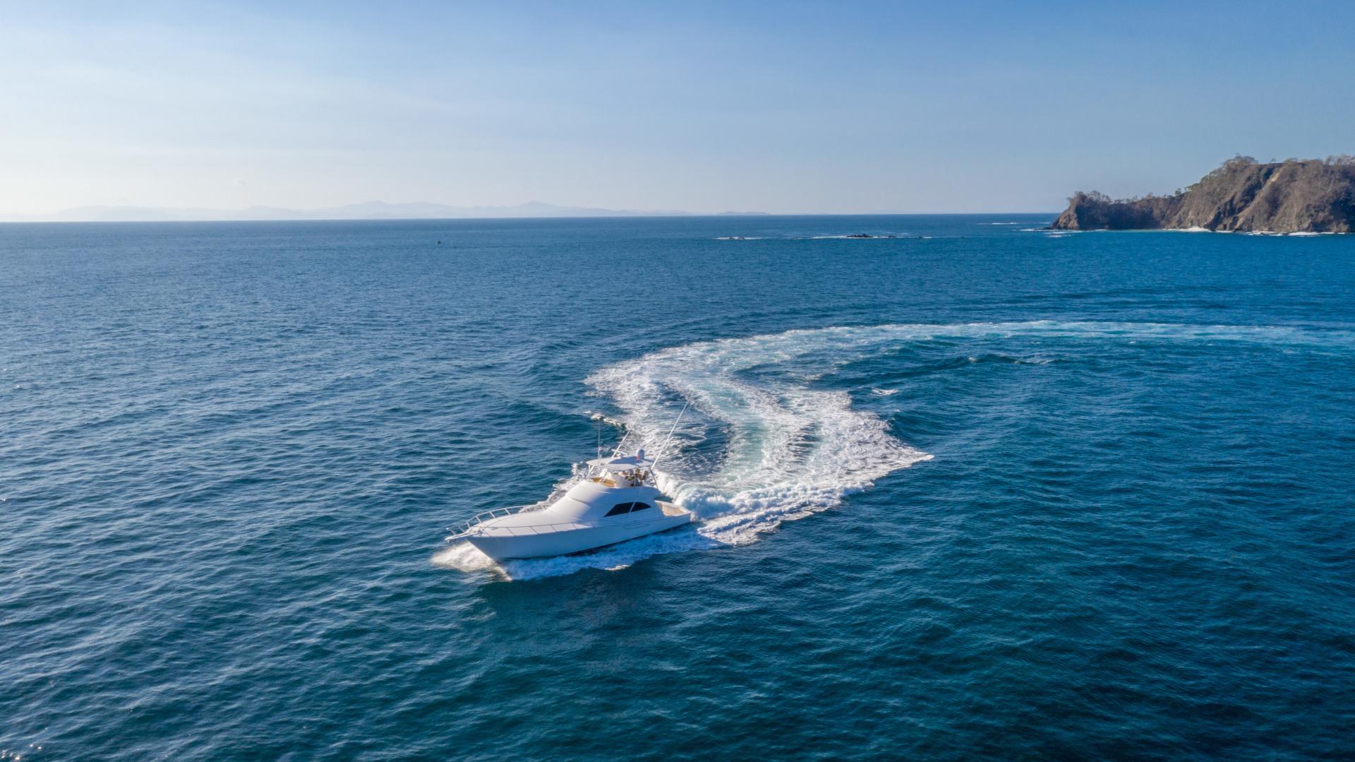 Viking-62 Convertible 2014-Mixer Playa Herradura, Los Suenos,-Costa Rica-2014 Viking 62 Convertible  Port Profile Running-1356287 | Thumbnail