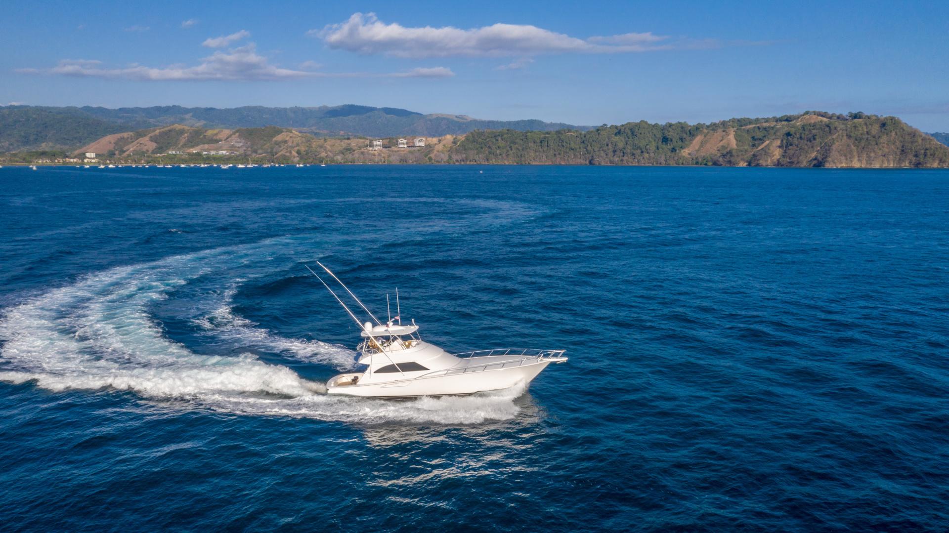 Viking-62 Convertible 2014-Mixer Playa Herradura, Los Suenos,-Costa Rica-2014 Viking 62 Convertible  Starboard Profile Running-1356283 | Thumbnail