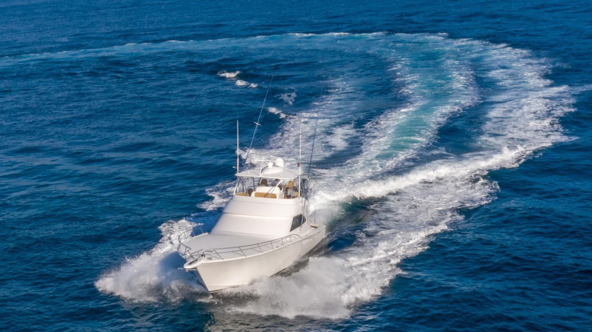 Viking-62 Convertible 2014-Mixer Playa Herradura, Los Suenos,-Costa Rica-2014 Viking 62 Convertible  Port Profile Running-1356280 | Thumbnail