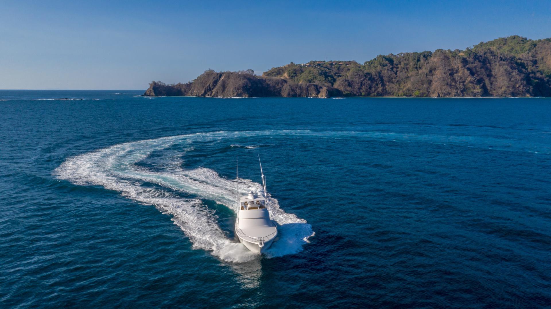 Viking-62 Convertible 2014-Mixer Playa Herradura, Los Suenos,-Costa Rica-2014 Viking 62 Convertible  Bow Profile Running-1356286 | Thumbnail