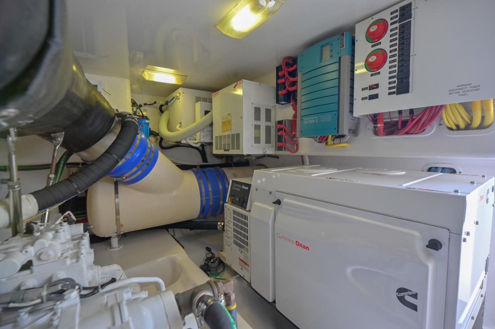 Viking-62 Convertible 2014-Mixer Playa Herradura, Los Suenos,-Costa Rica-2014 Viking 62 Convertible  Engine Room-1356262 | Thumbnail