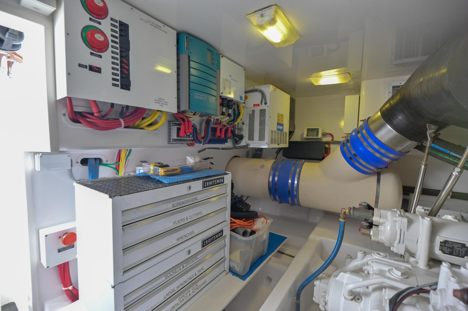 Viking-62 Convertible 2014-Mixer Playa Herradura, Los Suenos,-Costa Rica-2014 Viking 62 Convertible  Engine Room-1356263 | Thumbnail