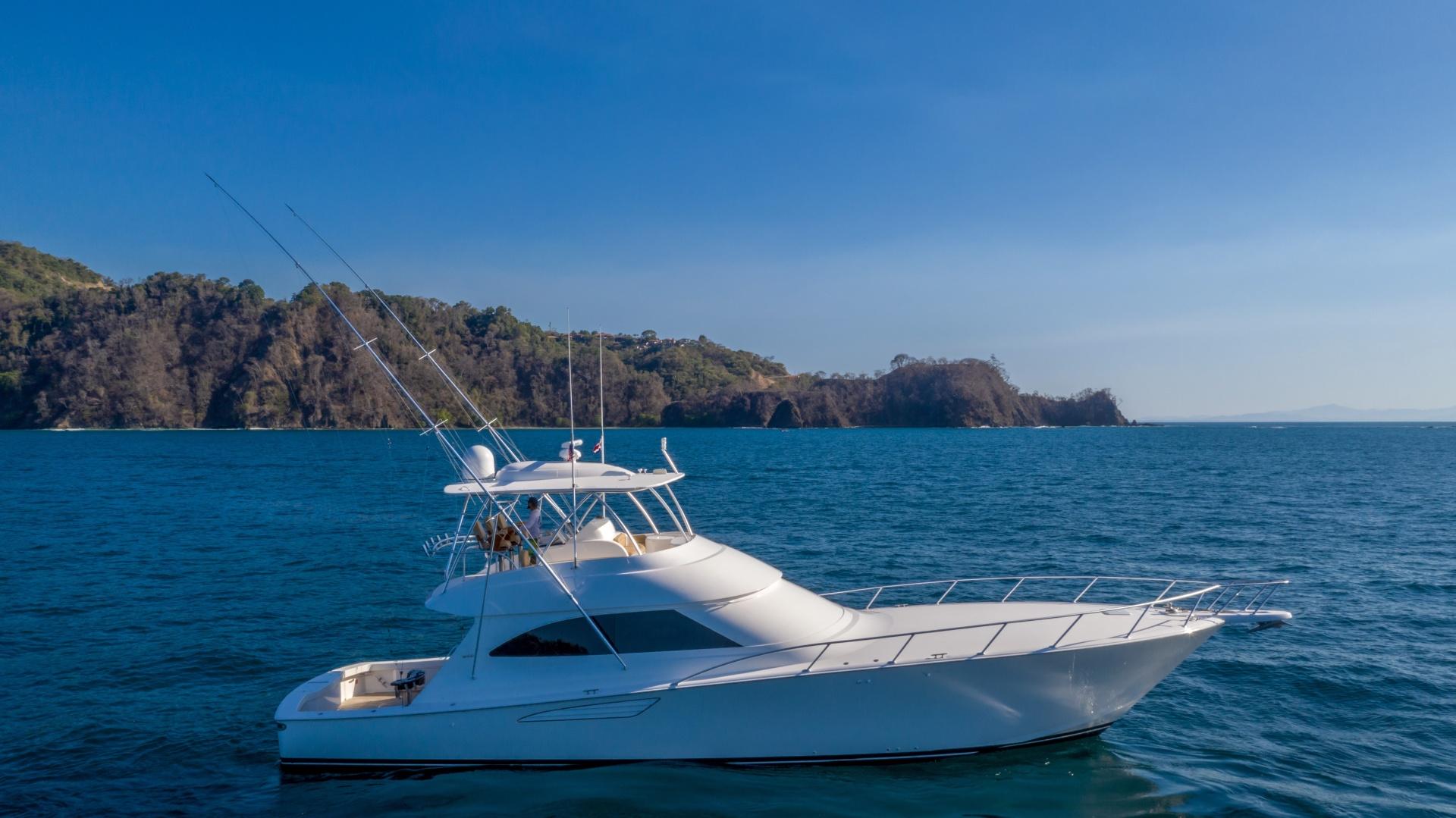 Viking-62 Convertible 2014-Mixer Playa Herradura, Los Suenos,-Costa Rica-2014 Viking 62 Convertible  Starboard Profile-1356270 | Thumbnail