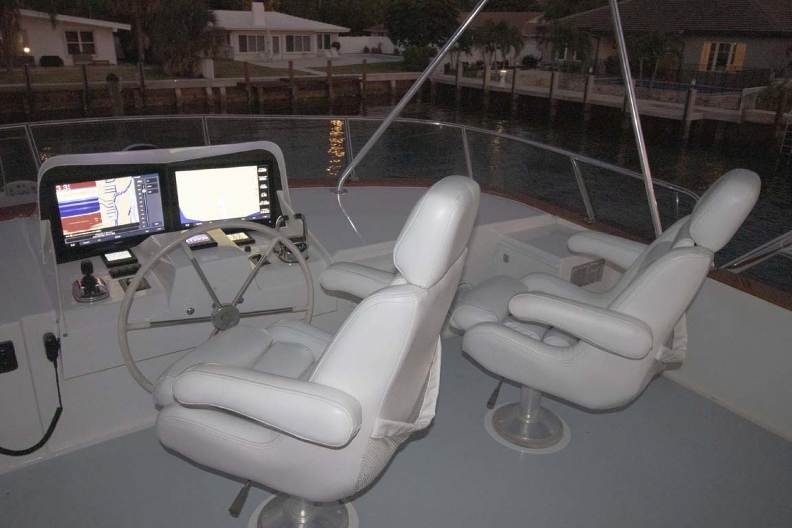 Nordlund-Raised Pilothouse 1985-Quiet Storm Fort Lauderdale-Florida-United States-Helm Chairs-1367088 | Thumbnail