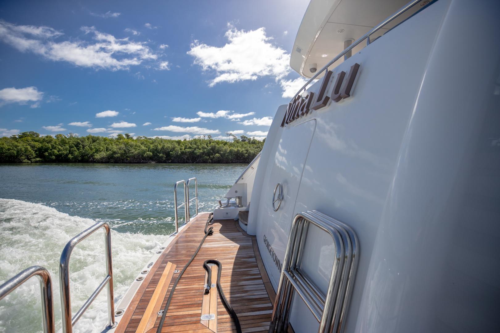 Westport-Westport 40 meter 2011-NINA LU Miami-Florida-United States-Swim Platform-1354291 | Thumbnail