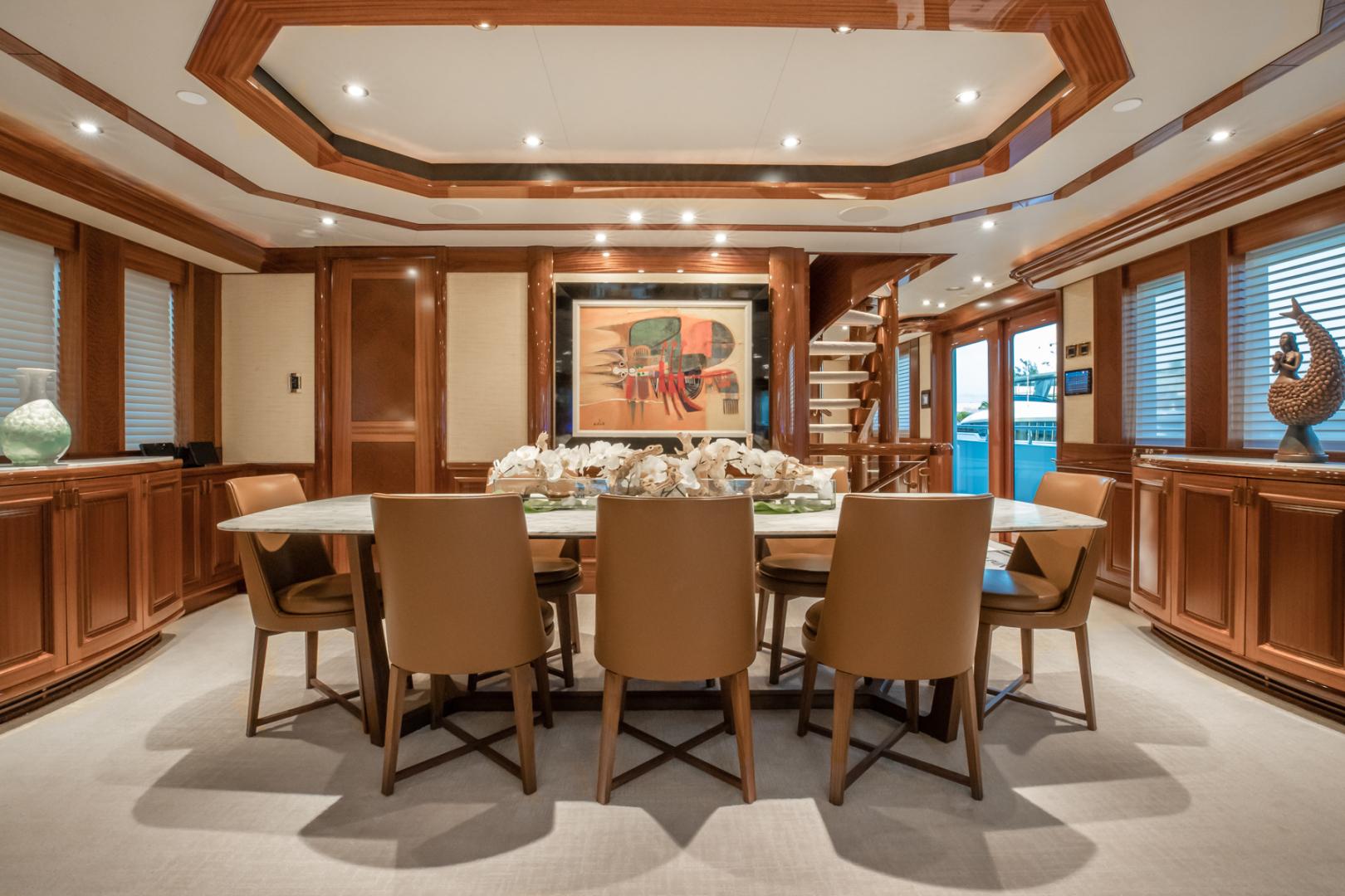 Westport-Westport 40 meter 2011-NINA LU Miami-Florida-United States-Dining Area-1354253 | Thumbnail