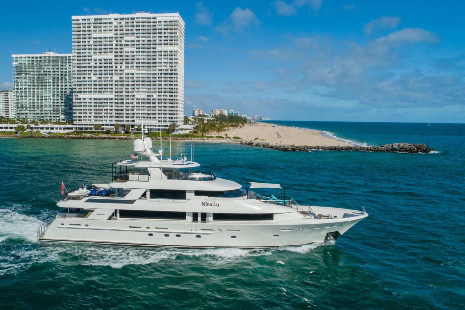 Westport-Westport 40 meter 2011-NINA LU Miami-Florida-United States-Starboad Profile-1354302 | Thumbnail