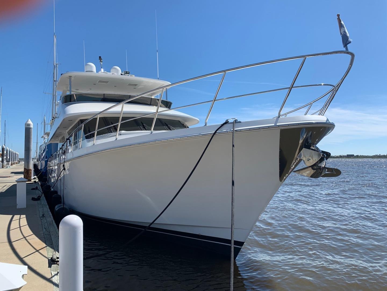 Ocean Alexander-Open Flybridge 2009-LADY GIGI Charleston-South Carolina-United States-Bow Profile-1385958   Thumbnail