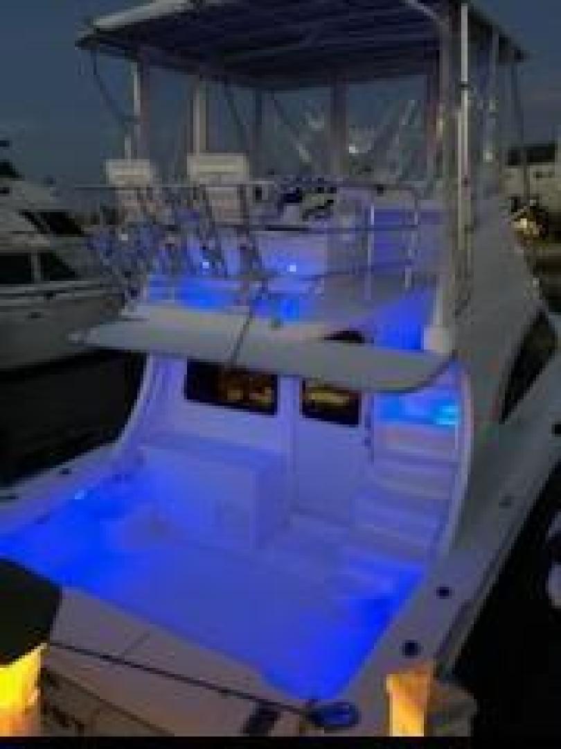 Luhrs-36 Convertible 2004-Justified Dunedin-Florida-United States-2004 Luhrs 36 Convertible  Night Lights Profile-1355096 | Thumbnail