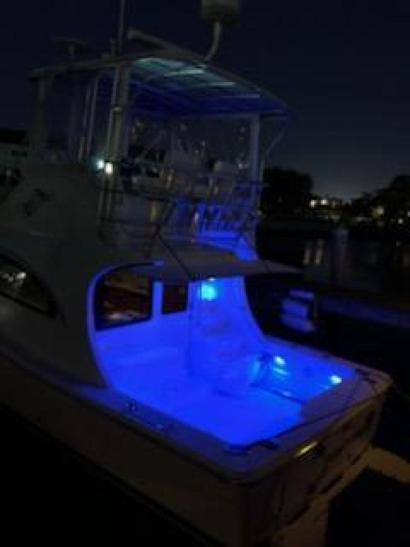 Luhrs-36 Convertible 2004-Justified Dunedin-Florida-United States-2004 Luhrs 36 Convertible  Night Lights Profile-1355108 | Thumbnail