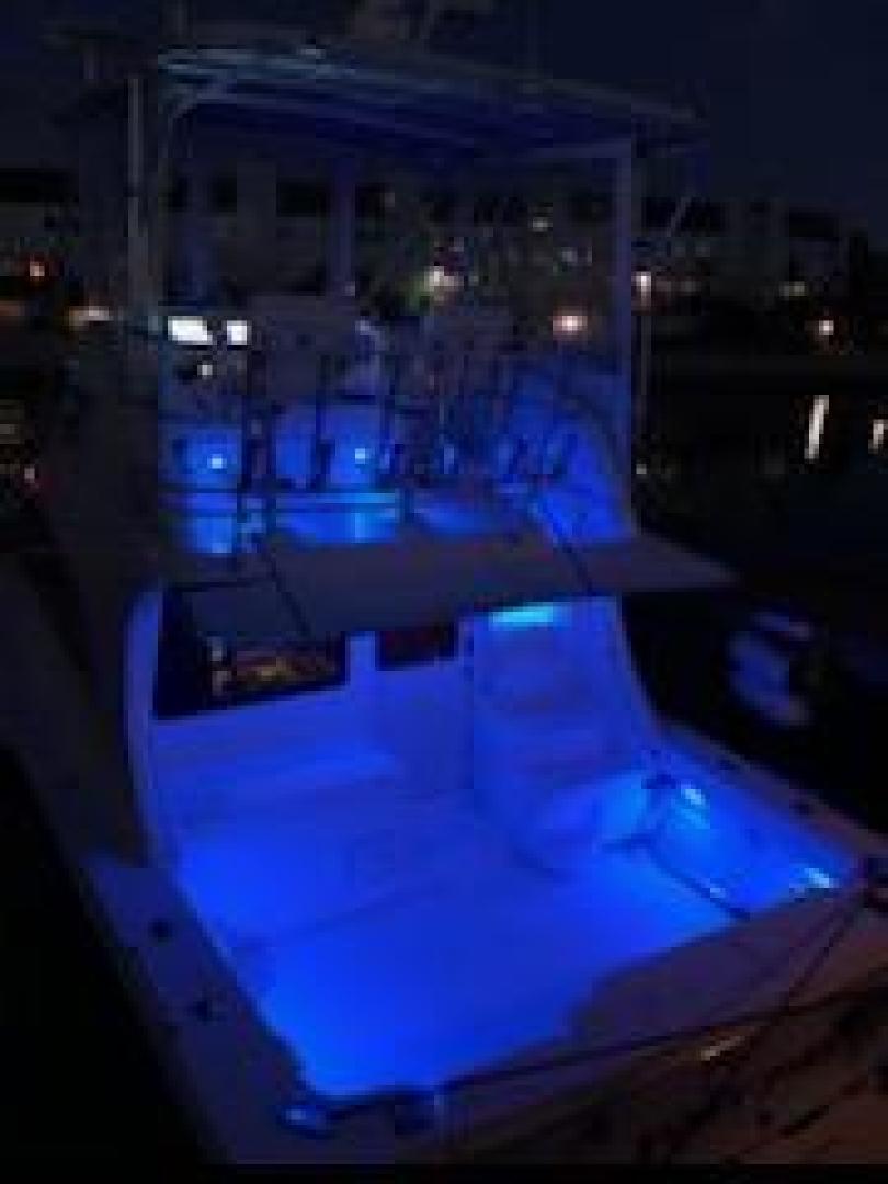 Luhrs-36 Convertible 2004-Justified Dunedin-Florida-United States-2004 Luhrs 36 Convertible  Night Lights Profile-1355100 | Thumbnail