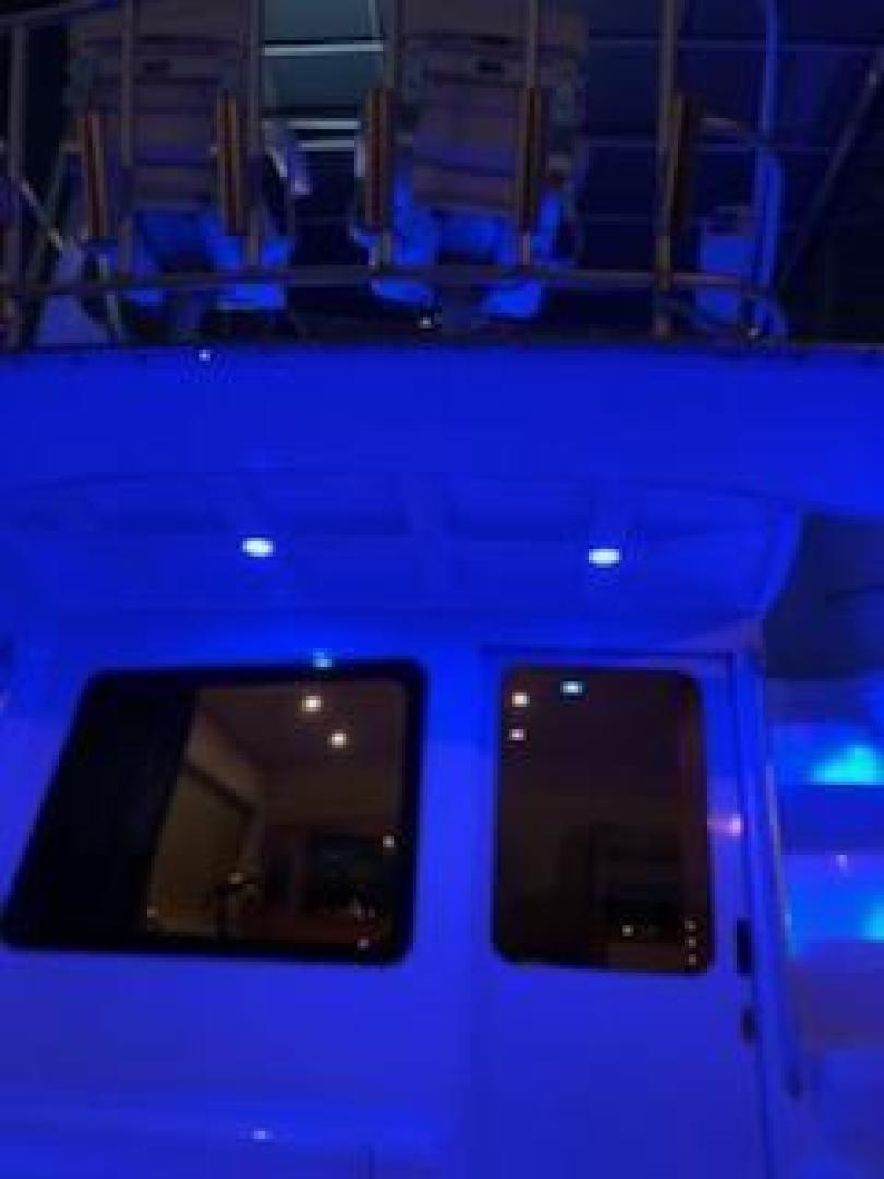 Luhrs-36 Convertible 2004-Justified Dunedin-Florida-United States-2004 Luhrs 36 Convertible  Night Lights Profile-1355109 | Thumbnail