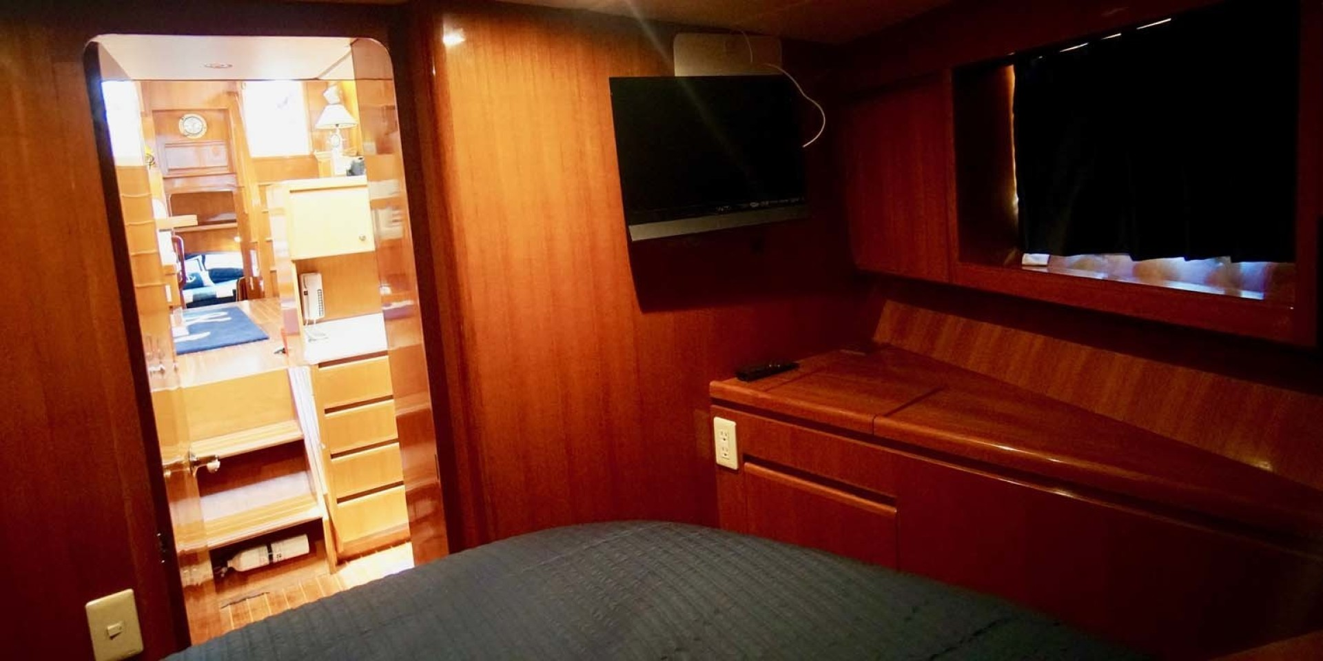 Novatec-48 Fast Trawler 2003-SINE DIE II Destin-Florida-United States-Guest Stateroom TV-1360626 | Thumbnail