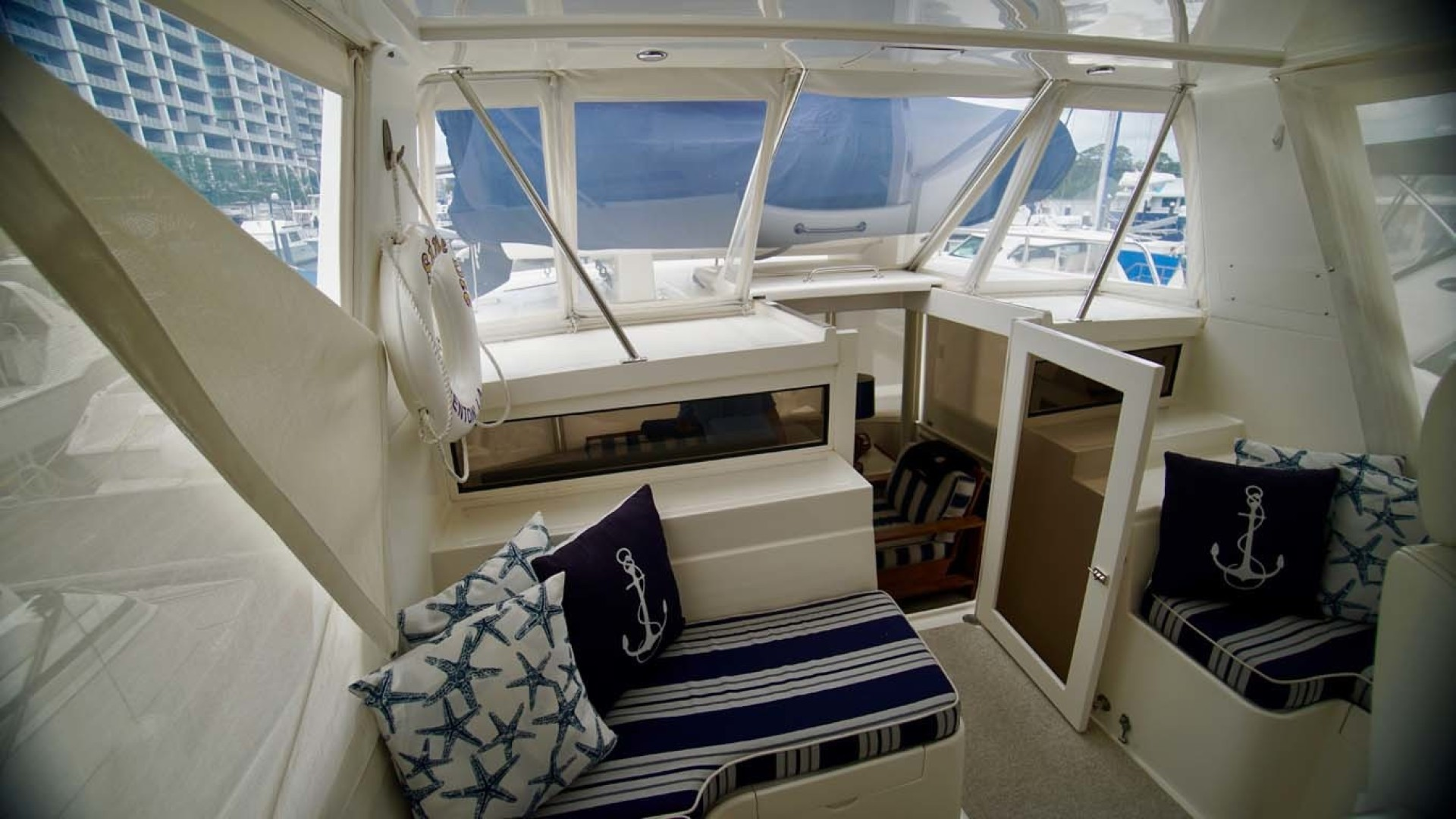 Novatec-48 Fast Trawler 2003-SINE DIE II Destin-Florida-United States-Flybridge Looking Aft-1360643 | Thumbnail