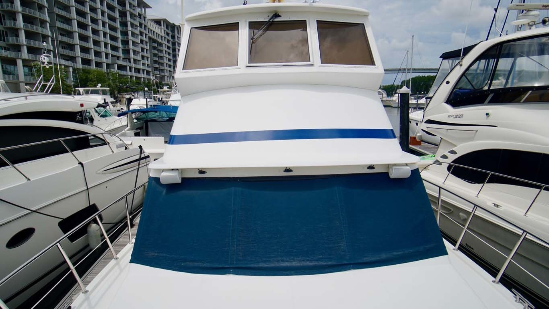 Novatec-48 Fast Trawler 2003-SINE DIE II Destin-Florida-United States-Bow Looking Aft-1360603 | Thumbnail