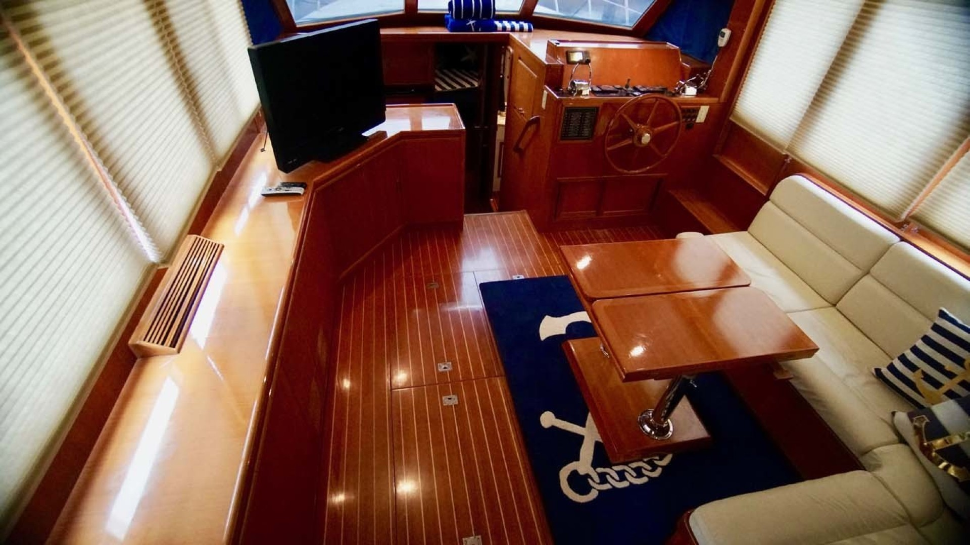 Novatec-48 Fast Trawler 2003-SINE DIE II Destin-Florida-United States-Salon Seating, Table And TV-1360612 | Thumbnail