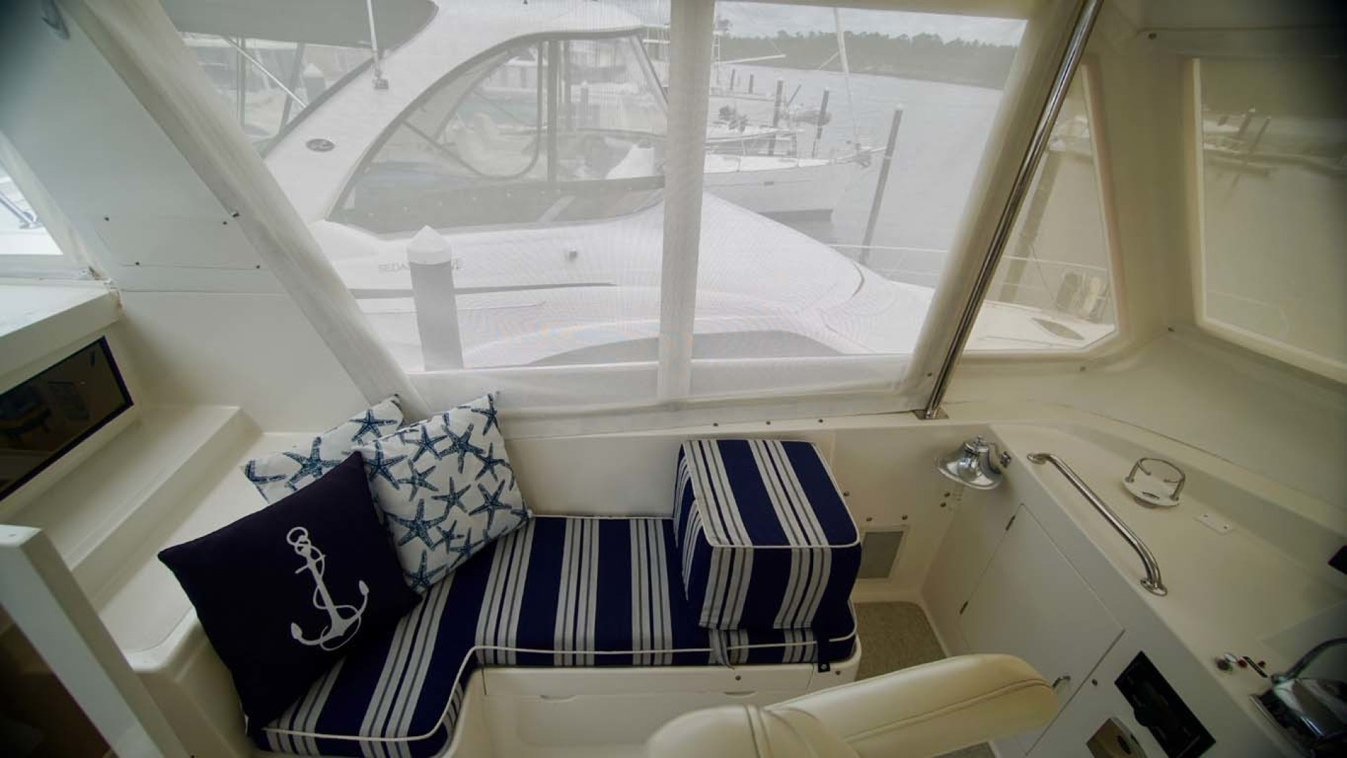 Novatec-48 Fast Trawler 2003-SINE DIE II Destin-Florida-United States-Flybridge Seating Port-1360644 | Thumbnail