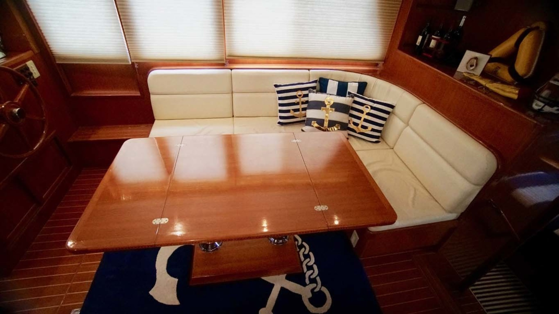 Novatec-48 Fast Trawler 2003-SINE DIE II Destin-Florida-United States-Salon Seating And Table-1360610 | Thumbnail