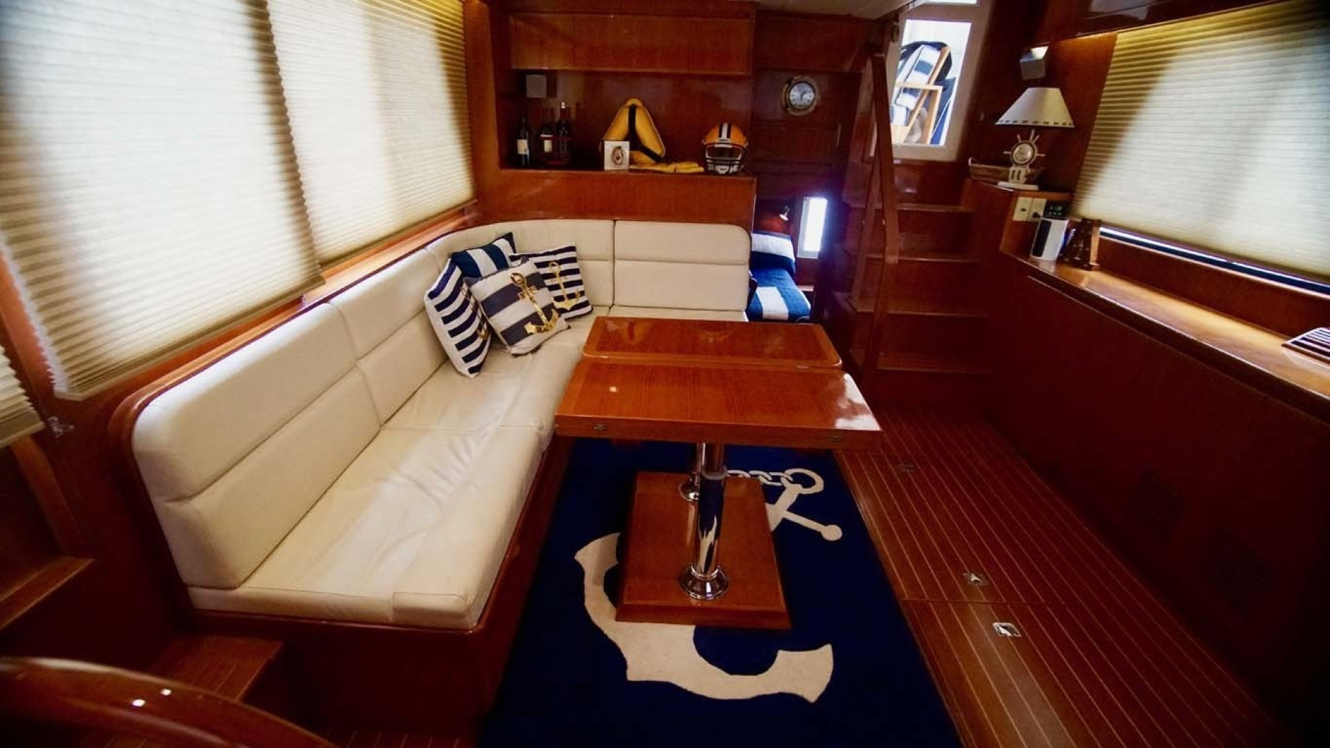Novatec-48 Fast Trawler 2003-SINE DIE II Destin-Florida-United States-Salon Seating And Table-1360611 | Thumbnail