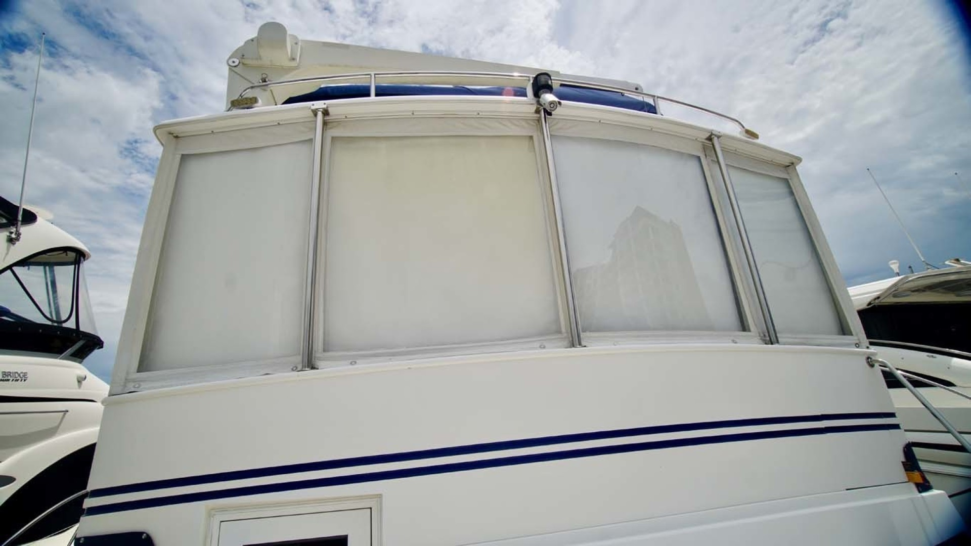 Novatec-48 Fast Trawler 2003-SINE DIE II Destin-Florida-United States-Aft Sun Deck Windows-1360647 | Thumbnail