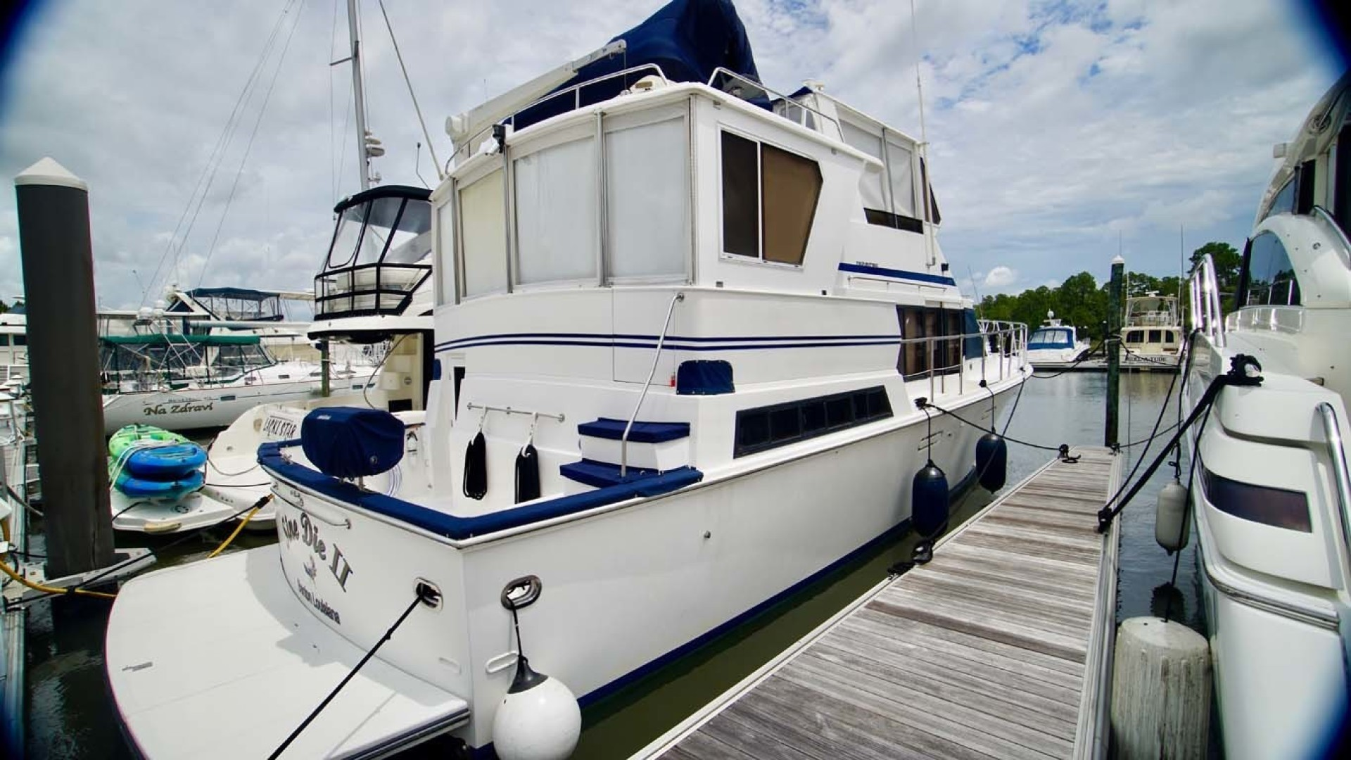 Novatec-48 Fast Trawler 2003-SINE DIE II Destin-Florida-United States-Starboard Aft View-1360653 | Thumbnail