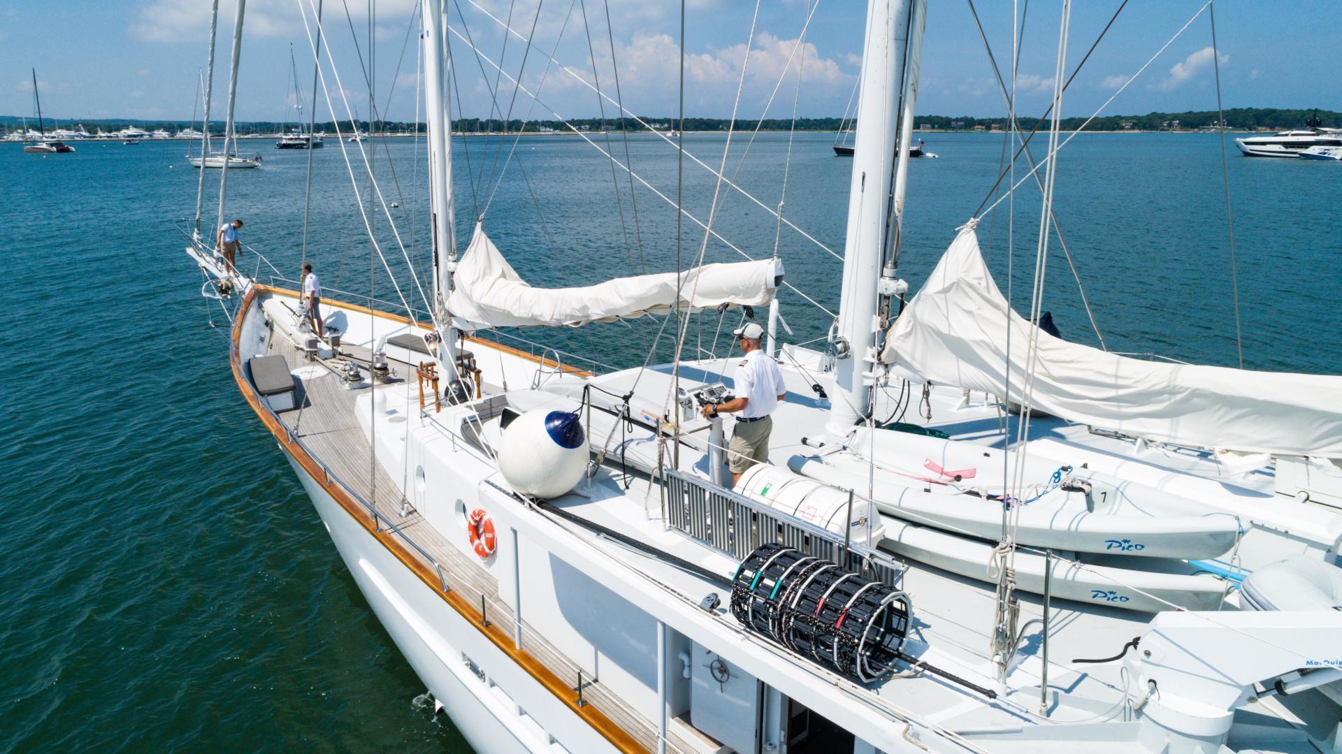 Palmer Johnson-Tri-Masted Staysail 1983-Arabella  Newport-Rhode Island-United States-1355653 | Thumbnail